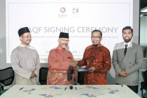 Waqf Signing Ceremony
